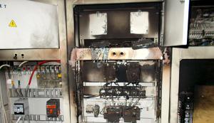 В Запорожской области горел детский сад