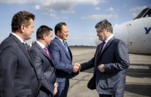 Визит Петра Порошенко в Запорожье в фотографиях
