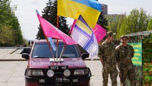 Военная техника, оружие и реклама контрактной армии: В Запорожье провели патриотическую весну