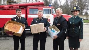 Сотрудники запорожской колонии поддерживают спасателей в АТО