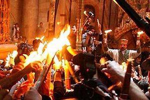 В Запорожье из Иерусалима привезут Благодатный Огонь