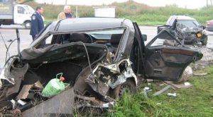 В полиции рассказали подробности жуткой аварии на трассе
