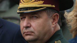 Министр обороны получил орден за борьбу с сепаратизмом