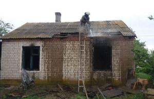 В Запорожской области на пожаре погиб 40-летний мужчина