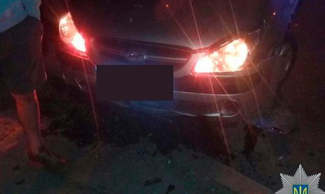 В Запорожье патрульная полиция гонялась за несовершеннолетним водителем