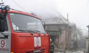 В Кушугуме произошел масштабный пожар – горел частный дом