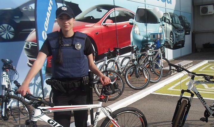 Запорожские патрульные пересядут на велосипеды