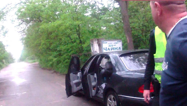 Запорожские патрульные задержали пьяного водителя, который представился помощником депутата