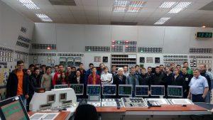 Студентам никопольского вуза показали энергоблок Запорожской АЭС