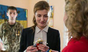 Марина Порошенко подарила