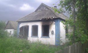 В Запорожской области сгорел частный дом - огонь забрал две жизни (ФОТО)