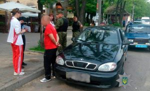 В Запорожье угонщик авто