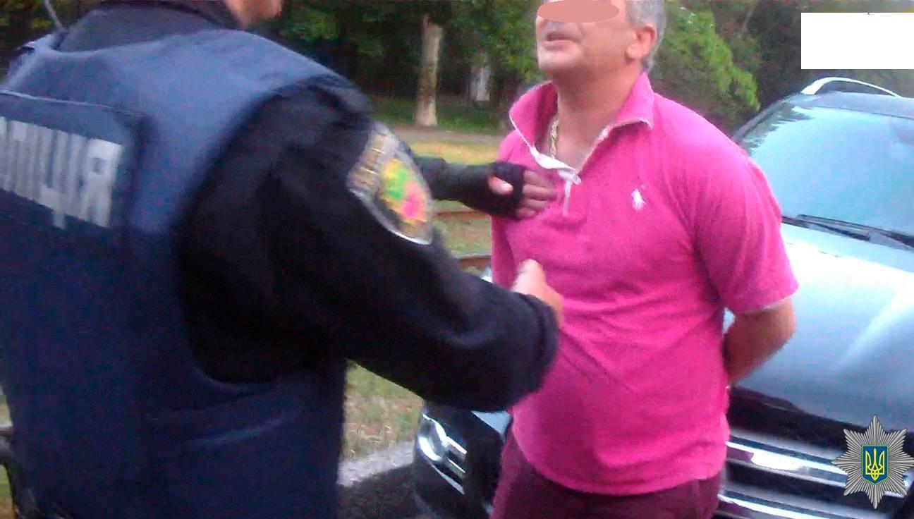 В Запорожье патрульные устроили погоню за пьяным водителем - фото