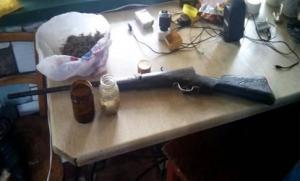 Марихуана и винтовка: Борцы с наркопреступностью показали видео «улова» в Запорожской области