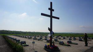Военком Миссии «Эвакуация 200»: Склоняю голову перед бойцами, которые похоронены на Кушугумском кладбище