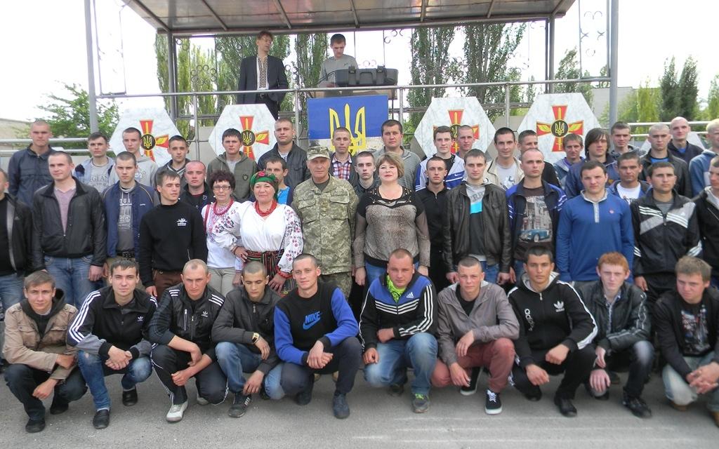 70 запорожских парней будут служить в воздушных силах и Нацгвардии
