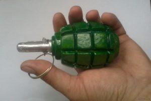 Житель Полог хранил дома гранату, которую привез из зоны АТО