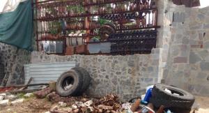 Пиротехники уничтожили забор из боеприпасов в Мелитополе