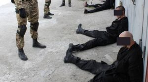 Задержанной в Запорожье бандитской группировке уже инкриминировали пять преступных эпизодов - видео