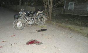 В Запорожской области мотоциклист врезался в столб - водитель погиб на месте