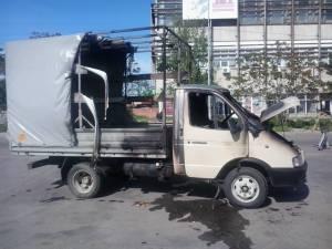 В Запорожской области на трассе загорелся автомобиль