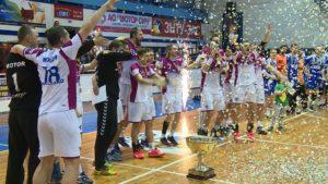 Тренер Николай Степанец: Это самый удачный сезон за всю историю существования мужского гандбольного клуба «Мотор»