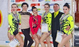 На Чемпионате Украине по спортивной аэробике запорожанки завоевали три серебра