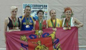 Запорожские гиревики привезут с Чемпионата Европы 20 медалей