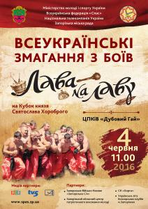 В Запорожье пройдут бои «Лава на лаву»