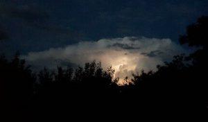 Грозовое облако в Мелитополе