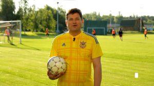 Евро-2016: Буряк призвал запорожцев болеть за сборную Украины - ВИДЕО