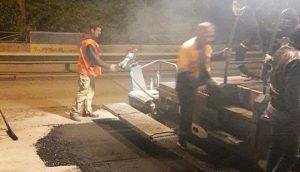 Наконец-то: В Запорожье загруженные участки дорог ремонтируют ночью - ФОТОФАКТ