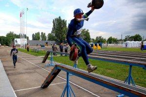 Чемпионат Украины по пожарно-прикладному спорту в фотографиях