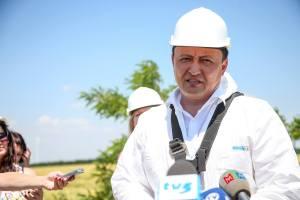 В Приазовском районе планируют построить еще около 30 ветротурбин