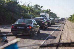 Курортный сезон в разгаре: Как выглядела трасса Запорожье-Симферополь
