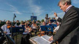 В Запорожской области оркестры и ДК присоединились к международной акции «Free Ukraine 25»