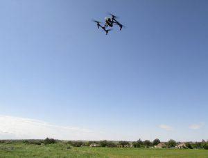 Бердянские аграрии запустили дроны, чтобы измерить поля