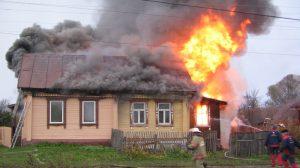 В Запорожской области горел дом - погиб мужчина