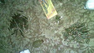 В Запорожской области демобилизованный боец привез из зоны АТО патроны и гранаты - фото