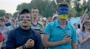 Как болела фан-зона - запорожцы рассчитывали увидеть от сборной Украины атакующий футбол