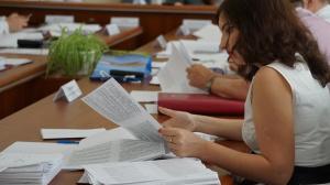 Заседание исполкома Запорожского городского совета в фотографиях