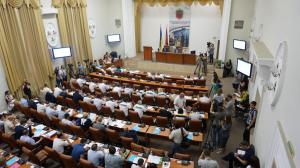 Седьмая сессия Запорожского горсовета в фотографиях