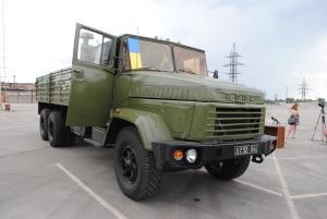 Запорожский завод восстановил «убитый» в зоне АТО КрАЗ