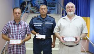 В Запорожье спасателям присвоили статус участников боевых действий