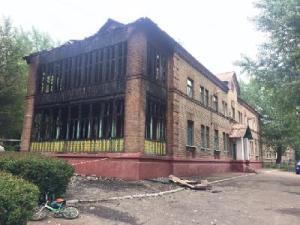Ремонт сгоревшего детского сада планируют провести за бюджетные деньги