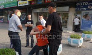Запорожцы задержали вора, напавшего на девушку в центре города