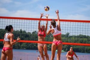 Как в Запорожье прошел финал Кубка Украины по пляжному волейболу