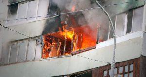 В Запорожье 1-комнатная квартира сгорела дотла - погиб мужчина