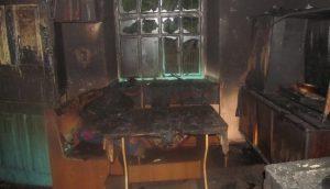 В Запорожской области сгорел дом - погибли двое пенсионеров