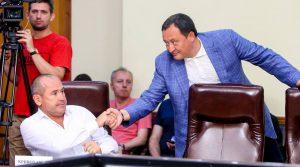 Губернатор и нардеп Кривохатько поругались из-за главврача облбольницы – как это было